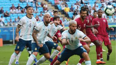 ثنائية الأرجنتين تبخر أحلام قطر في كوبا أميركا
