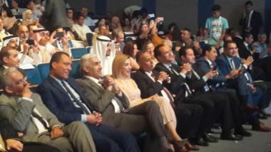 رياض يحضر فعاليات مهرجان  تونس عاصمة الشباب العربي