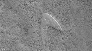 """شعار """" ستار تريك"""".. على المريخ"""