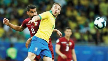 فنزويلا تحرج البرازيل في مباراة الأهداف الملغية بكوبا أميركا