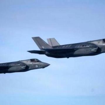 """بريطانيا: مقاتلات """"F – 35"""" نفذت طلعات جوية أعلى سوريا والعراق"""