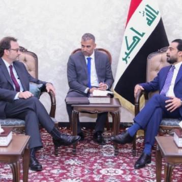 الحلبوسي لمساعد وزير الخارجية الأميركي: العراق له دور ريادي بخفض التوتر بالمنطقة