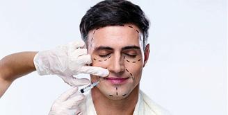 إقبال كبير من الرجال على جراحات الوجه التجميلية