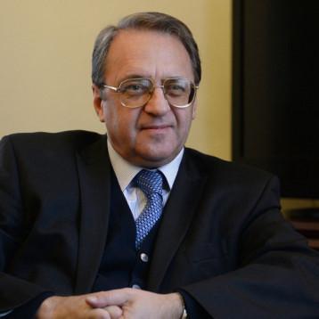"""بوغدانوف: مشاركة العراق في مؤتمر"""" استانة"""" يسهم باحلال السلام في سوريا"""