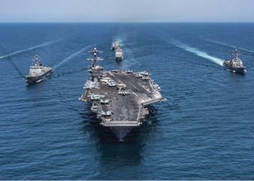 تحالف دولي بحري لحراسة مضيق هرمز وإيران مهددة بخسارة أوروبا في معركة الاتفاق النووي