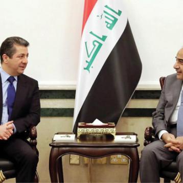 حكومة اقليم كردستان تعتزم الوصول الى حلول مستدامة للمشكلات العالقة مع الحكومة الاتحادية