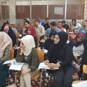 دورة في طرائق التدريس الحديثة ومناقشة بحوث طلبة المجلس العراقي للاختصاصات الطبية