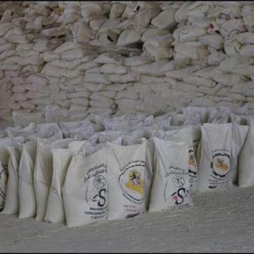 كبريت المشراق تجهز مديريات ماء بغداد ونينوى بإنتاجها من مادة الشب