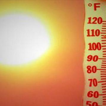 50 مئوية درجات الحرارة في البلاد خلال الايام المقبلة