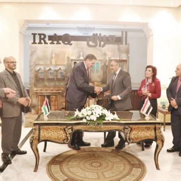 العراق والاردن يوقعان اتفاقا للاستعمالات السلمية للطاقة الذرية