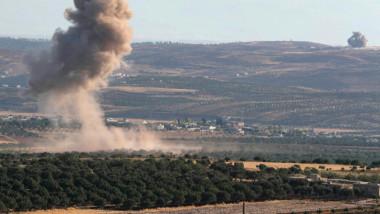 القوات السورية تصل تخوم «خان شيخون»  في معارك عنيفة مع افصائل المسلحة