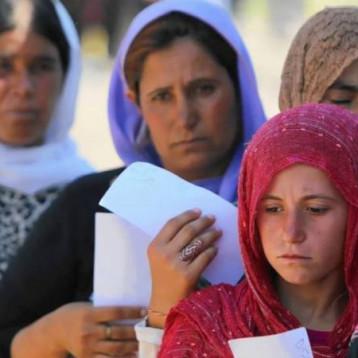 قائممقام سنجار يناشد الحكومة والمجتمع الدولي انقاذ الايزيديات في مخيم الهول السوري