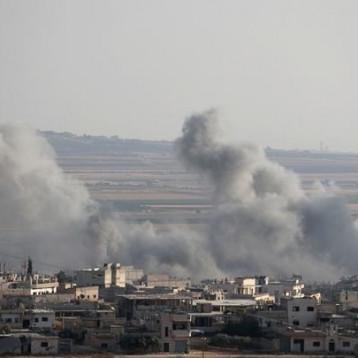 غارات جوية روسية سورية توقع 15 قتيلا بينهم أطفال في ريف إدلب الجنوبي