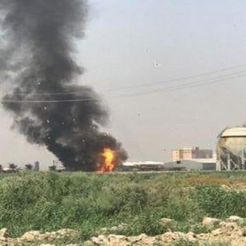 انفجار في معمل غاز الناصرية