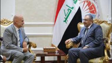 العراق وفرنسا يبحثان آفاق تنمية العلاقات الثقافية والعلمية