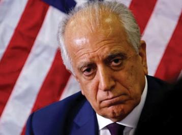 """الكونغرس سيجبر """"زلماي زاد"""" على الادلاء بشهادته في الغاء المفاوضات مع طالبان"""