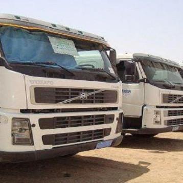 النقل: حققنا 3160 نقلة عبر اسطول الشاحنات البري خـلال شهر آب المـاضي