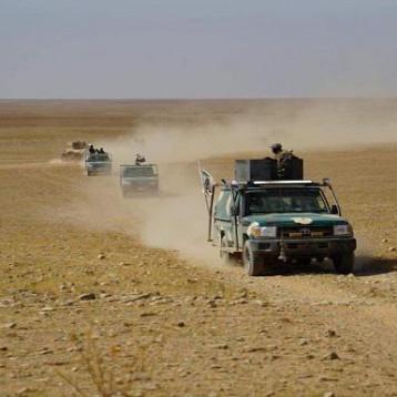 انطلاق عملية إرادة النصر الخامسة في بادية النجف وصولاً إلى الحدود السعودية