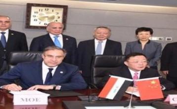 وزير الكهرباء يعلن من الصين دخول محطة صلاح الدين الخدمة قبل صيف العام المقبل