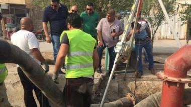 52 خط طوارئ جديد لتصريف مياه الأمطار في بغداد