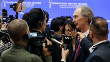 بيدرسون يعتبر انطلاق عمل اللجنة الدستورية  «بارقة أمل» للشعب السوري