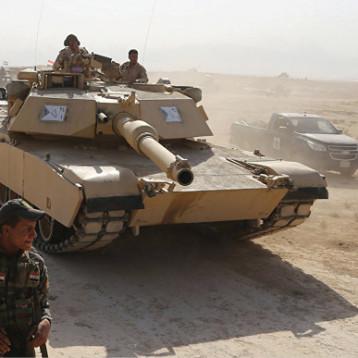 تعزيزات عسكرية كبيرة أرسلت الى الحدود لمواجهة أي تسلل محتمل من داعش