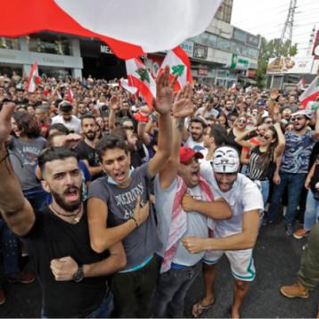 مهلة الحريري تقترب من نهايتها والمحتجون اللبنانيون يواصلون ضغوطهم على الحكومة