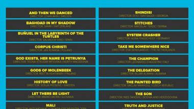 24 فيلماً في القائمة المرشحة لـ جوائز النقاد العرب للأفلام الأوروبية
