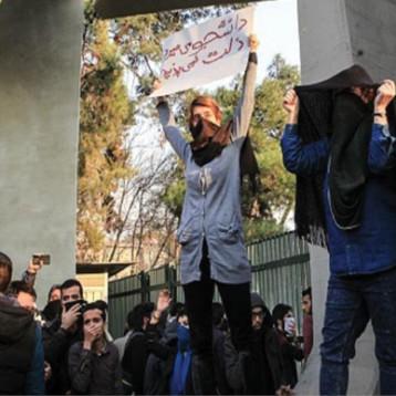 اضراب عام في سوق طهران الكبير وأكثر  من 75 مدينة إيرانية تجتاحها الاحتجاجات