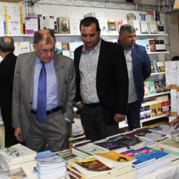 اكثر من 180 دار نشر تشارك في معرض السليمانية الدولي الاول للكتاب