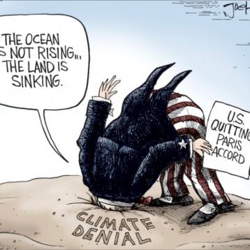 الانسحاب الأميركي من اتفاق باريس