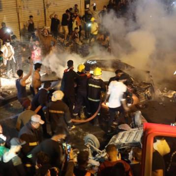 حقوق الانسان: تفجير التحرير تهديد خطير وينعكس سلبا على سلمية التظاهرات