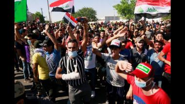 فنانو العراق يداً بيد مع المتظاهرين