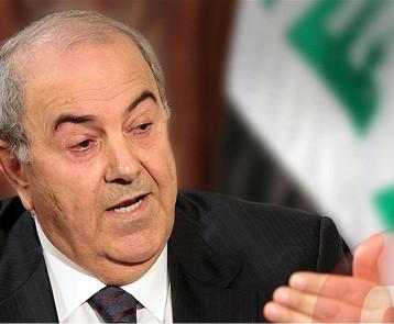 """علاوي: لماذا تتعالى أصوات القوى الحاكمة برفض القوات الأجنبية وهي التي اوقعته في """"المستنقع"""""""