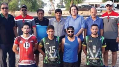 ختام بطولة العراق بالكرة الطائرة الشاطئية