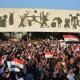 دائرة الفنون العامة تنظم سمبوزيوم يمثل المتظاهرين في ساحة التحرير