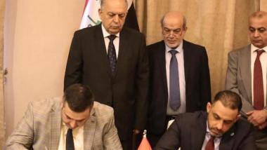 سومو توقع عقدا مع ناقلات النفط العراقية لنقل النفط الاسود