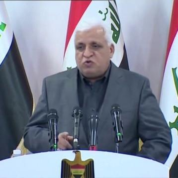 فالح الفياض: لا يجب قلب النظام من اجل تحقيق مطالب المتظاهرين