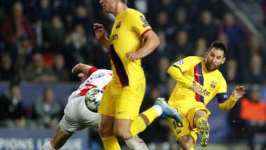 مباراة برشلونة وسلافيا براج عالية  الخطورة في دوري أبطال أوروبا