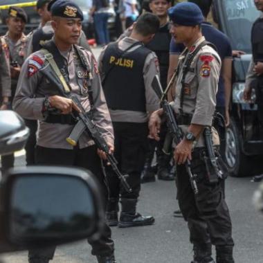 مقتل انتحاري في هجوم على الشرطة  في مدينة ميدان الإندونيسية