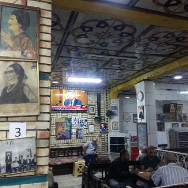 مقهى ام كلثوم.. ذاكرة للتراث والطرب الاصيل