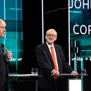 مواجهة حادة بين جونسون وكوربن قبل الانتخابات البرلمانية بشأن بريكست
