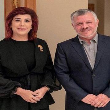 سفيرة العراق في الأردن وفلسطين تلتقي الملك عبدالله قبل مغادرتها عمّان لانتهاء مهامّ عملها