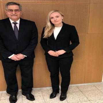 سفير العراق في فلندا يبحث إعادة افتتاح سفارة هلسنكي في بغداد