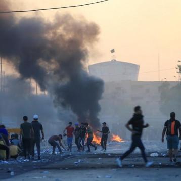 حصيلة جديدة لمفوضية حقوق الانسان: ضحايا احتجاجات العراق تتجاوز الـ300 شهيد