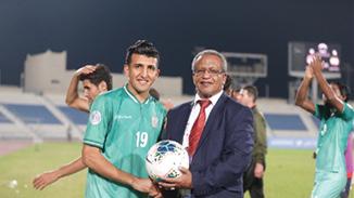 أمجد عطوان ينافس على لقب  الهداف في البطولة العربية