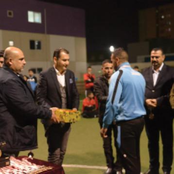 الملوك يظفر بكاس خماسي كرة القدم لرواد بسماية