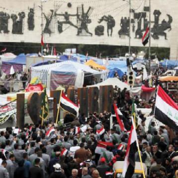 سائرون والفتح تطالبان رئيس الجمهورية باختيار رئيس الوزراء من أسماء يرشحها المتظاهرون