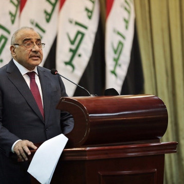 دول اوربية تطالب عبد المهدي بعدم السماح لأي فصيل مسلح بالعمل خارج سلطة الدولة