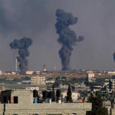 غارات إسرائيلية على مواقع تابعة لحركة حماس في غزة